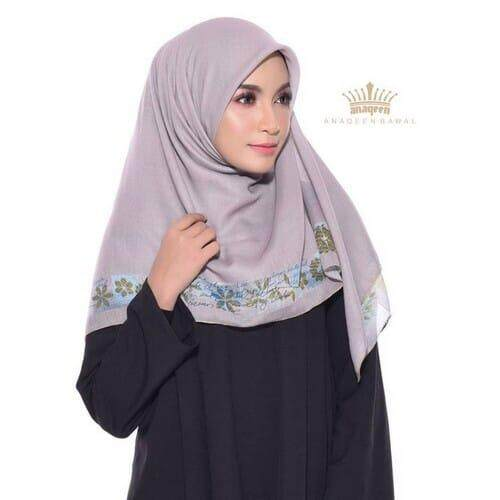 Tudung Bawal Anaqeen - White Pepper Collage