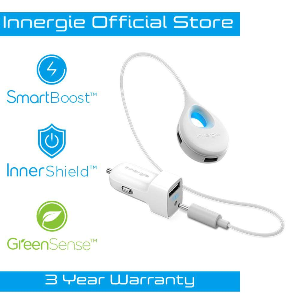 Innergie PowerCombo Go Hub Car Charger with Extended Power Hub (12W)