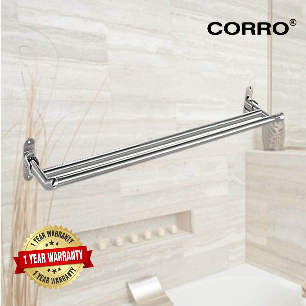 [CORRO High Quality SUS304 Stainless Steel Foldable Towel Rack]
