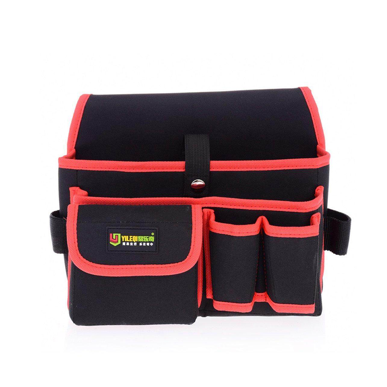 Hot Sales Waterproof Multi-pockets Waist Pockets Tool Bag Electrician Tool Bag Oganizer