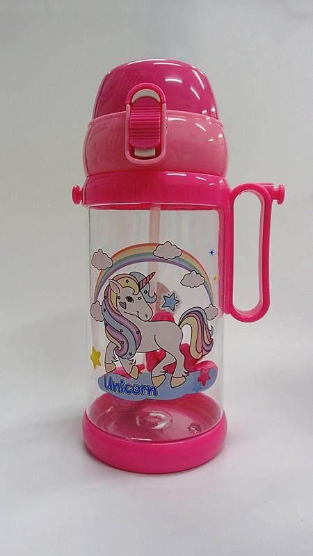 650ML Cartoon Water Bottle BPA Free Water Tumbler Drinking Bottle Cup (BGJAYA)-Unicorn