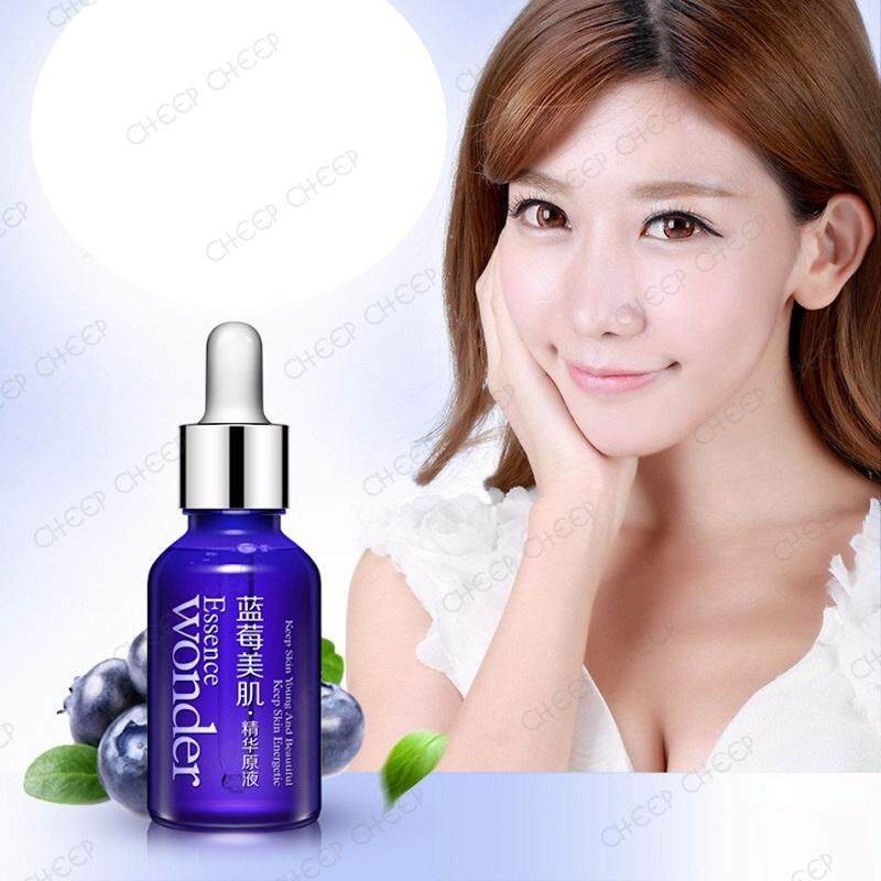 BioAqua Blueberry Wonder Essence Serum - AntiAging Whitening Oil Control 15ml
