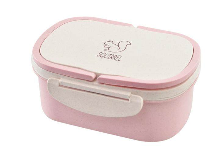 Wheat Straw 2-compartment Food Container – 950ml