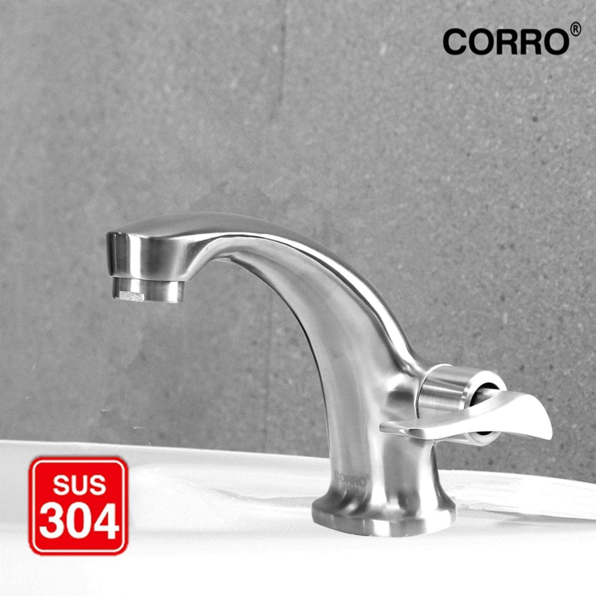 CORRO SUS304 Stainless Steel Basin Cold Tap-CBPT 8314