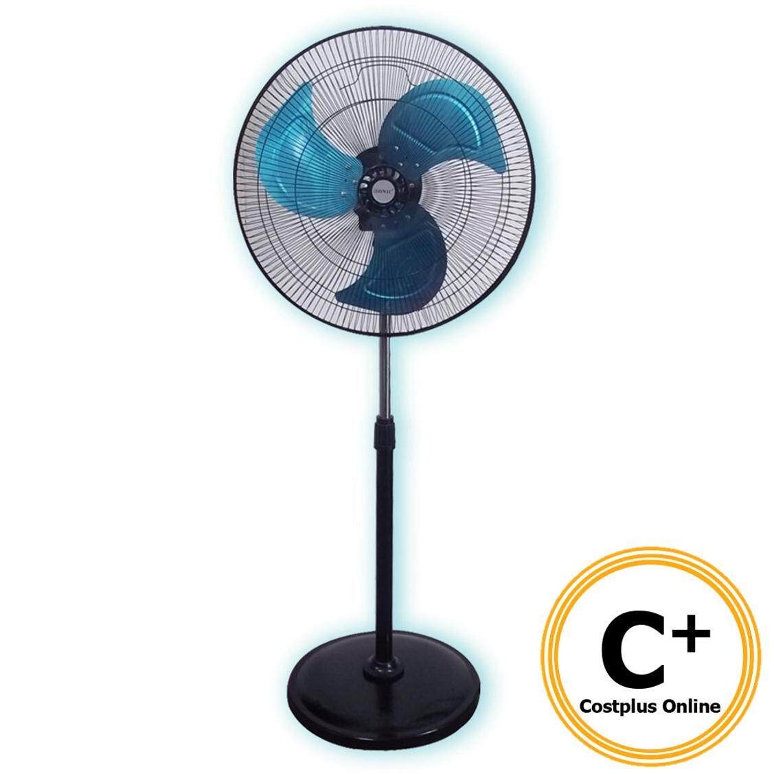 """iSonic IF-651 20"""" Industrial Stand Fan Adjustable Height (20 Inch)"""