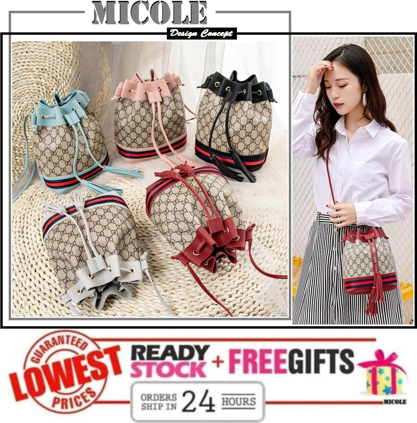 MICOLE SB2274 Korean Shoulder Bag Handbag Women Sling Bag Beg
