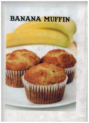 Muffin - Banana 30 pieces / set