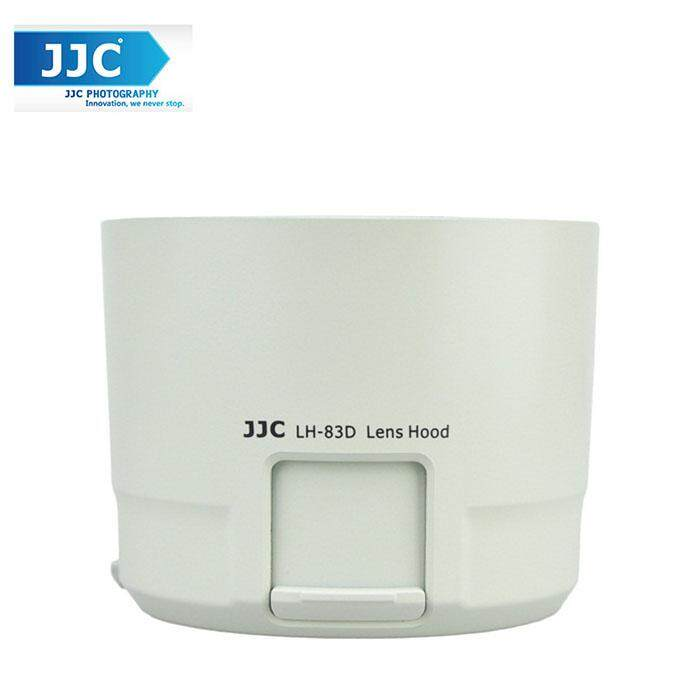 JJC LH-83D White Lens Hood for CANON EF 100-400mm f/4.5-5.6L IS II USM Lens Camera Lens ( ET-83D )