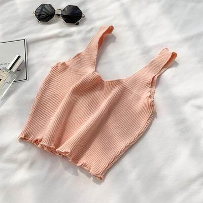 ?PRE-ORDER 21 DAYS?Knit v-neck sleeveless top