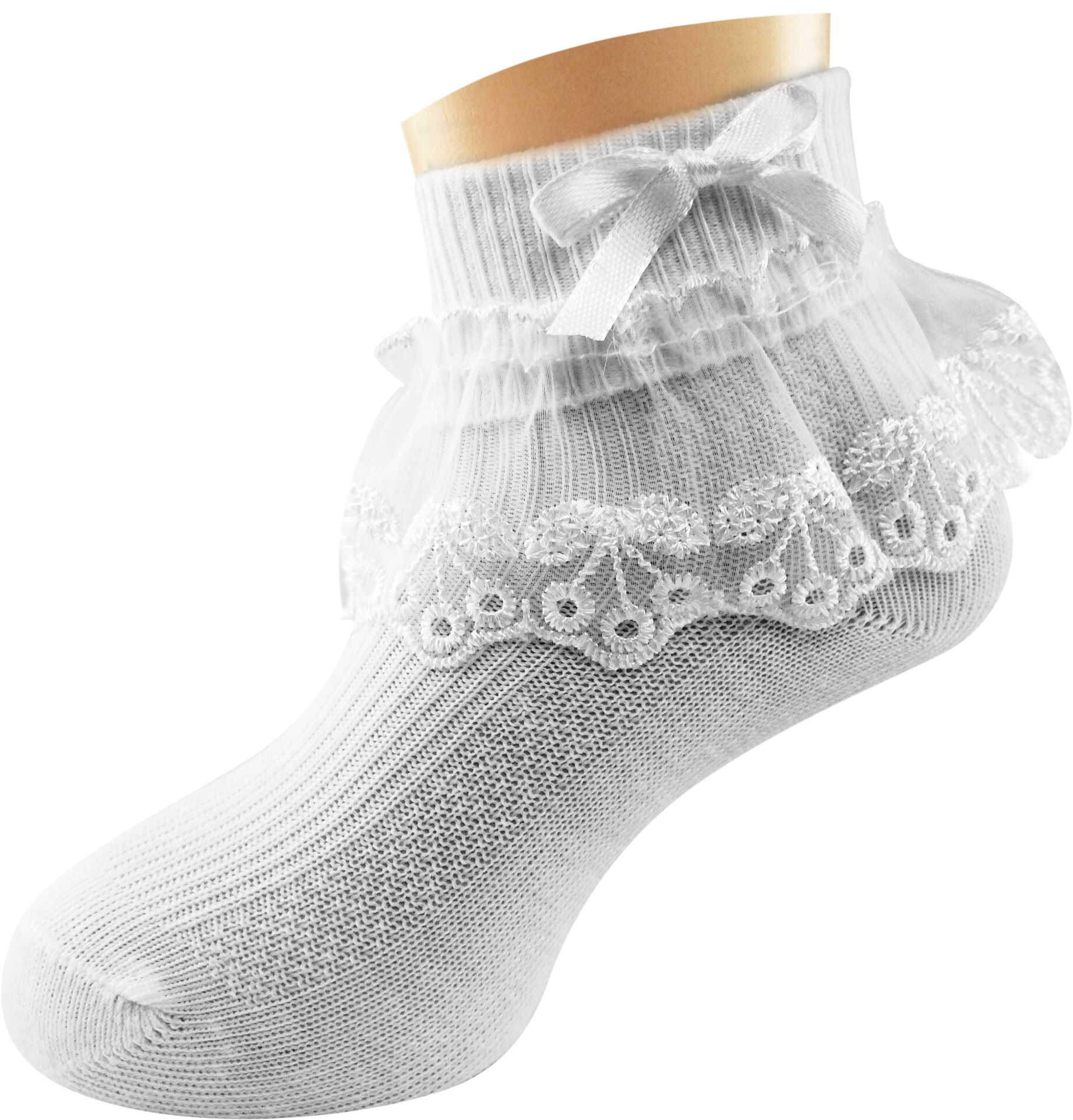Semlouis Lace Children Ankle Socks – Assorted /Design 7/PAIR