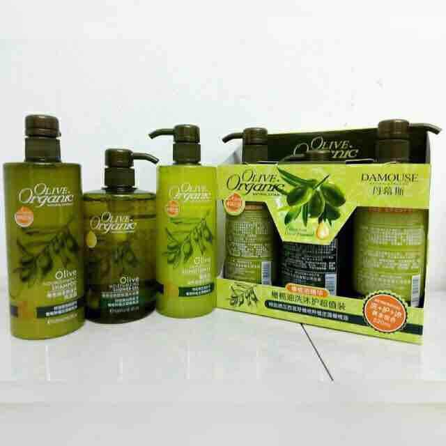 DAMOUSE 3 in 1 Natural Extract & Olive Essence Organic