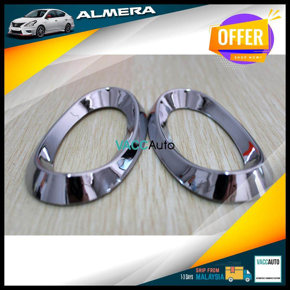 Nissan Almera 2011 - 2019 Fender Signal Chrome Lining Vacc Auto Car Styling Accessories Exterior Car Body Trim