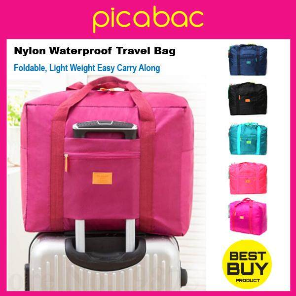 Picabag light weight water resistant nylon duffel luggage bag PACHB-TL0001