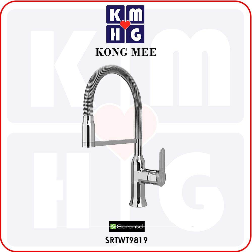 Sorento Italy - Camella 9800 Series Pillar Mounted Kitchen Mixer Tap (Hot And Cold Sink Faucet) (SRTWT9819) Basin Kitchen Top Counter Restaurant Home Wash Dishes Water Soap Faucet Clean Pipe Food Cook Chef Premium Modern Luxury High Quality Long Lasting