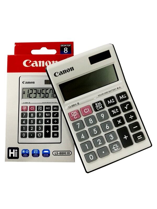 Canon Calculator LS-88HI III