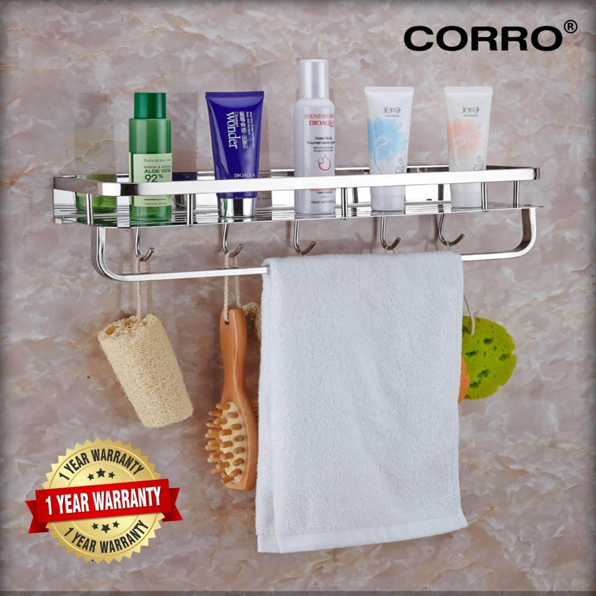 CORRO HIGH QUALITY SUS304 Stainless Steel Bath Rack