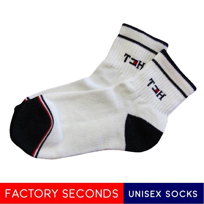 COMFORTABLE SOCKS FACTORY SECOND TMK3-5 WHITE (L SIZE)