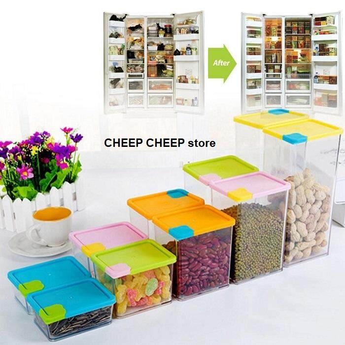 12pc Stackable & Space Savvy Fridge Organizer Containers (6 Sets)