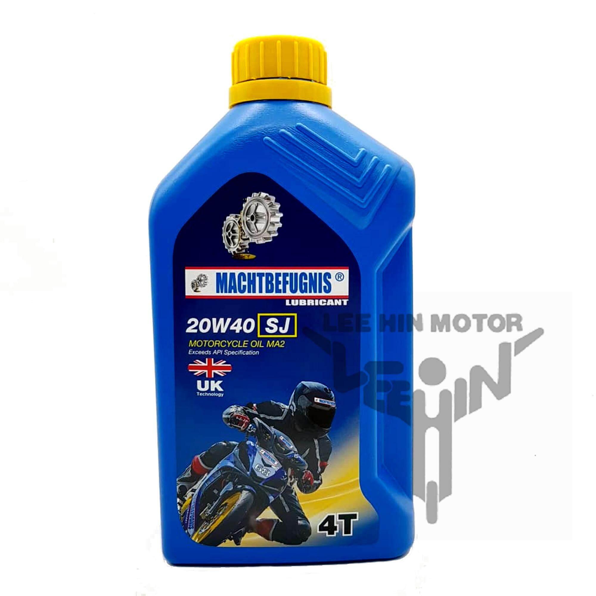 Machtbefugnis 20w40 4T Engine Oil Minyak Hitam ( 1 Litre )