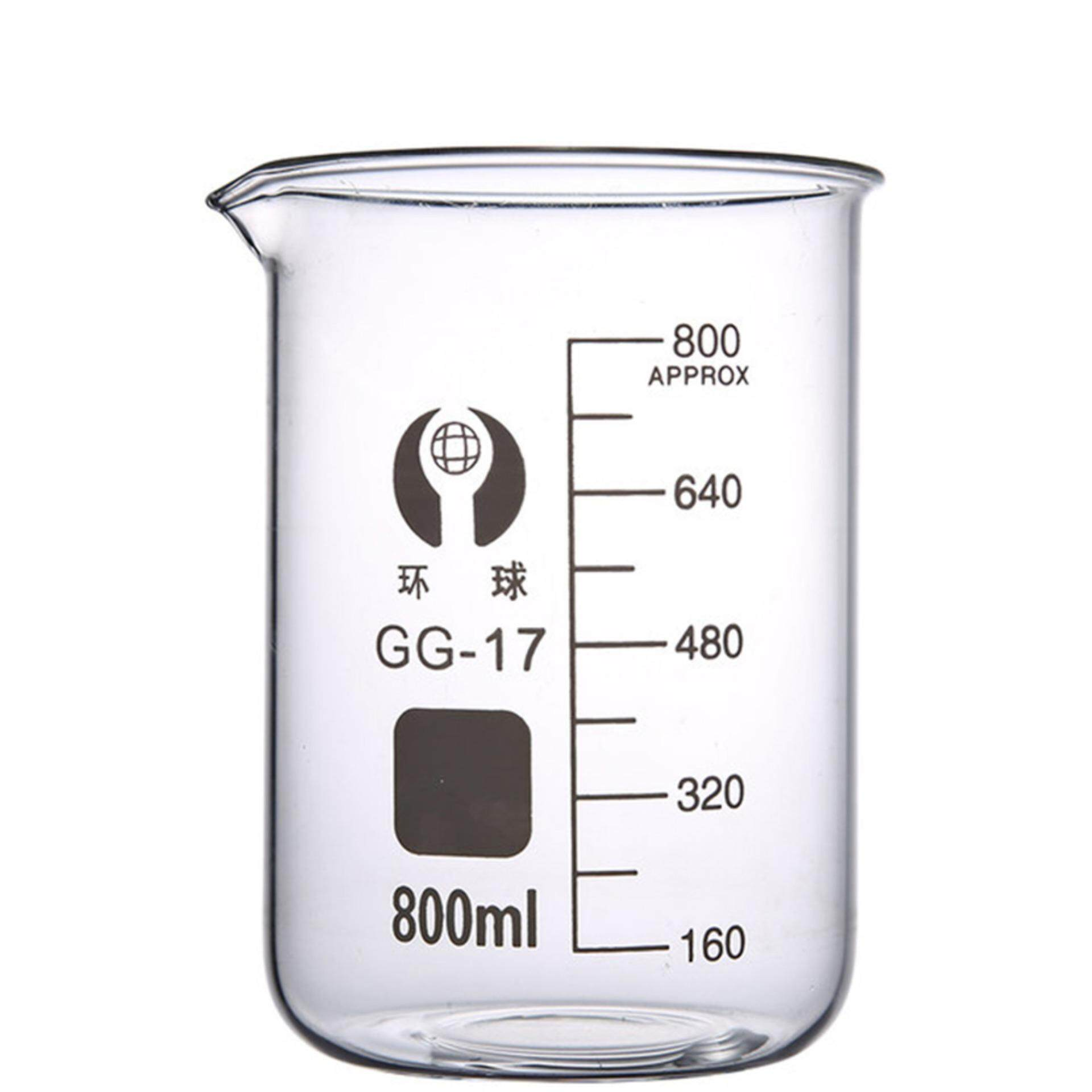 Glass Beaker 800ml with Sprout