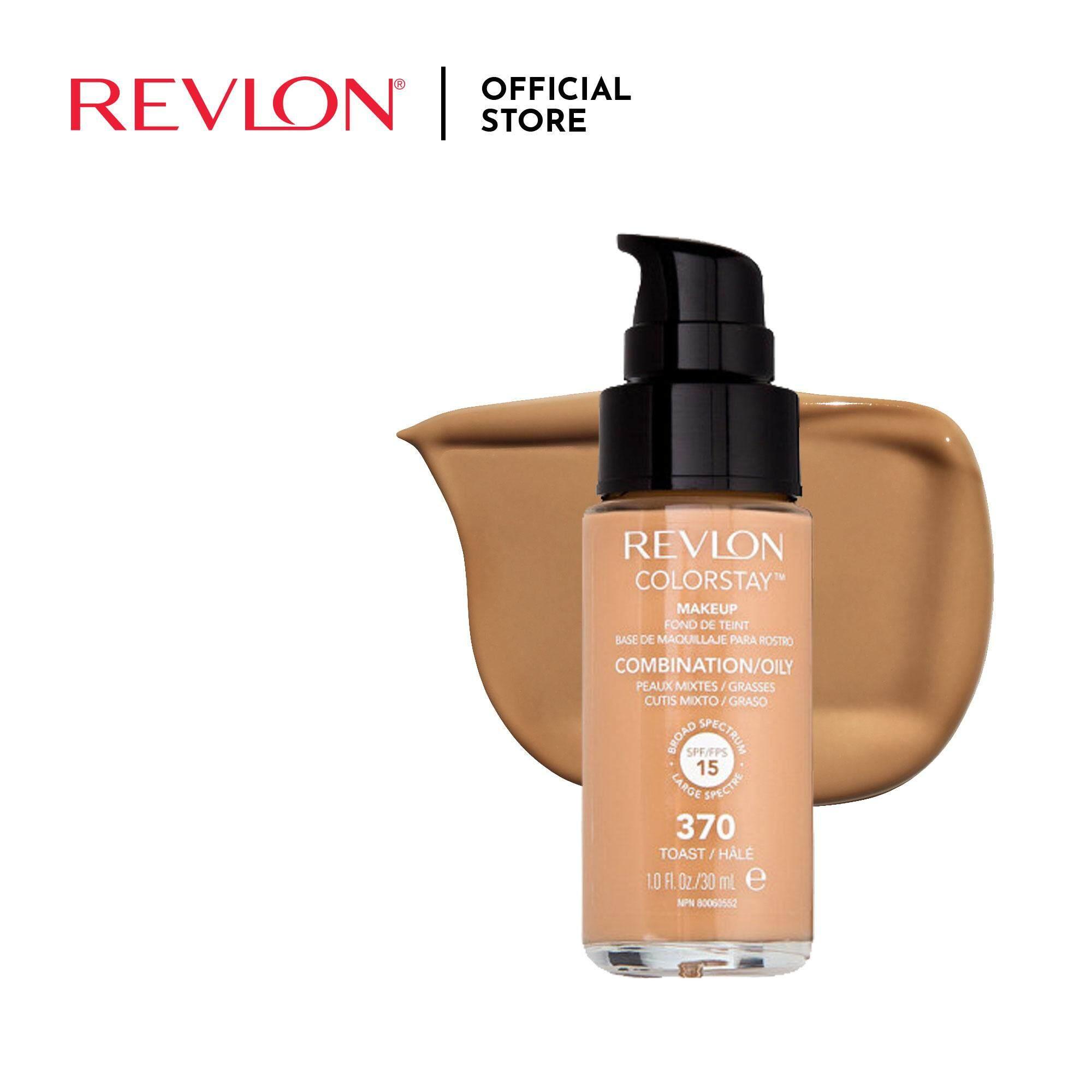Revlon Colorstay MakeUp Oily / Combination -Toast 370