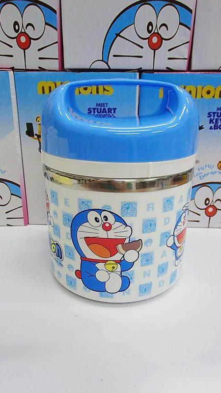 1 Layer Stainless Steel Cartoon Lunch Box (BGJAYA)-Doraemon