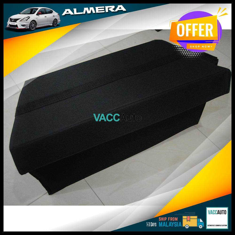 Nissan Almera 2011 - 2019 Rear Bonnet Storage Box Vacc Auto Car Accessories Interior Gadgets