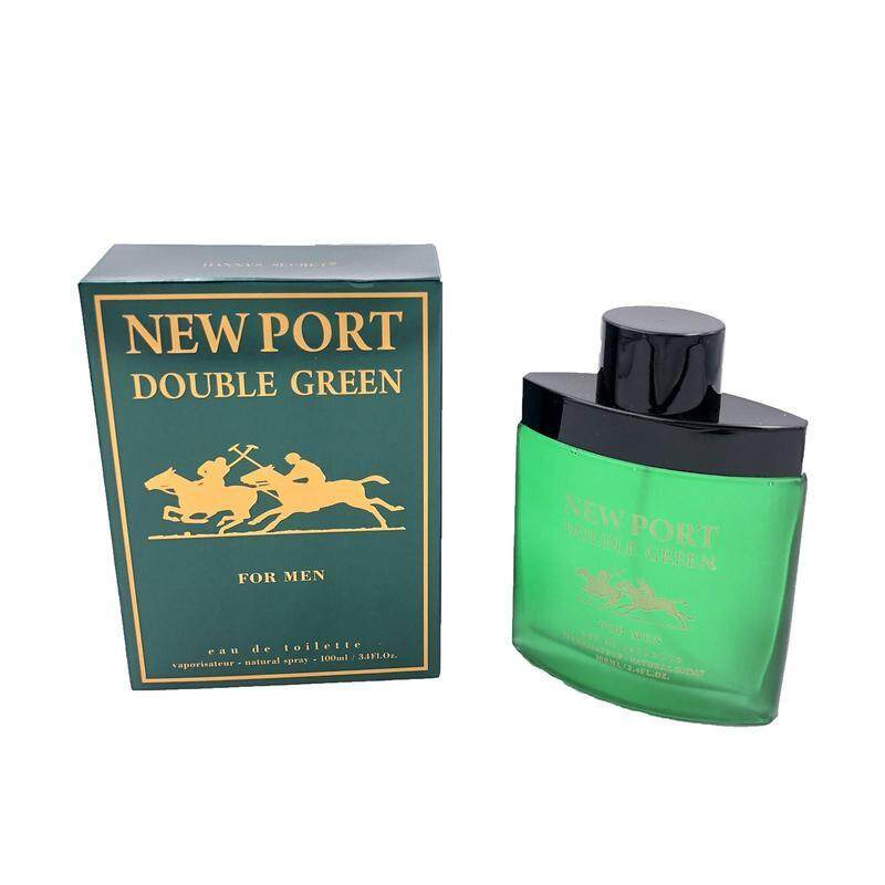NEW PORT DOUBLE GREEN PERFUME FOR MEN  100ML