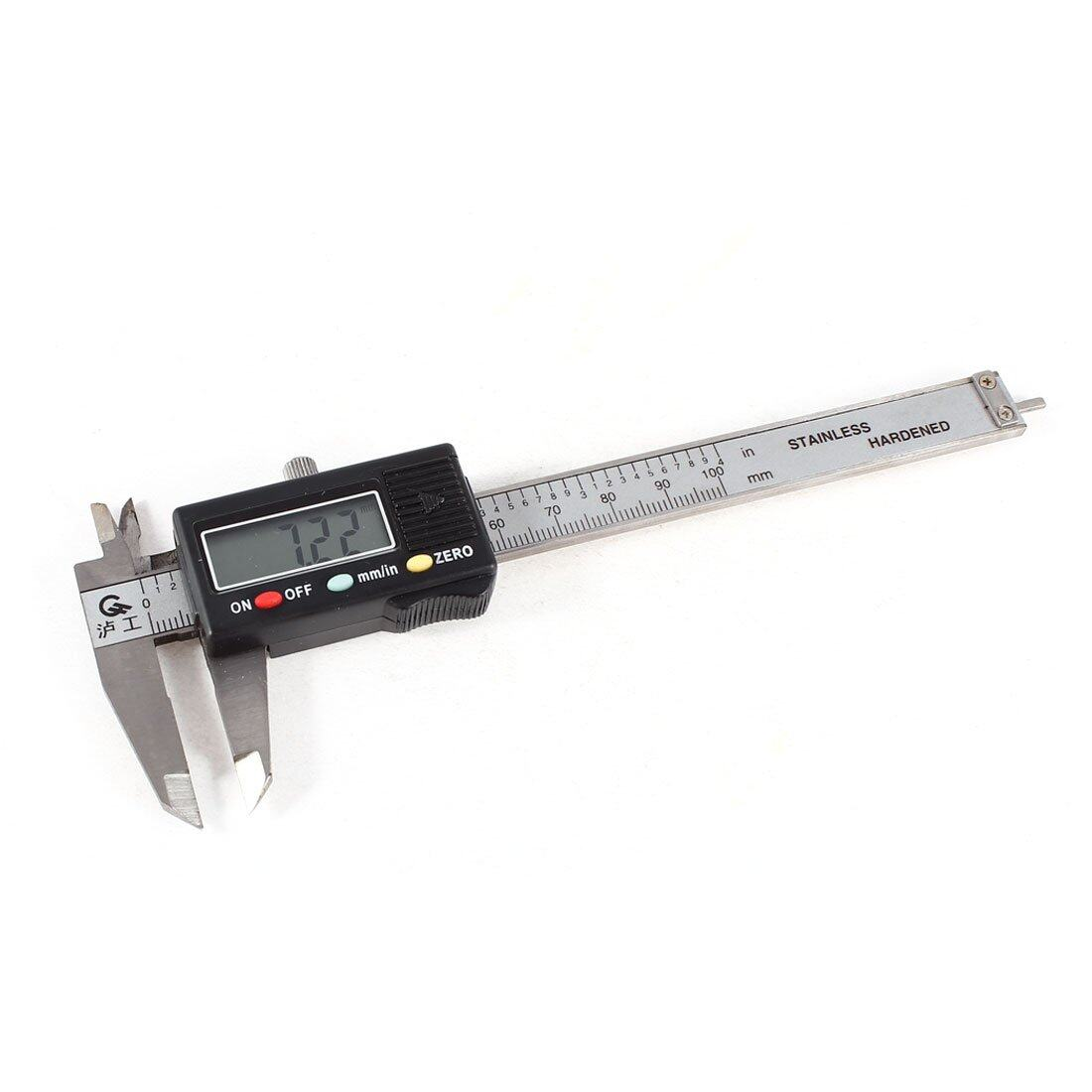 Mini Digital Caliper 0 - 100mm with Plastic Case