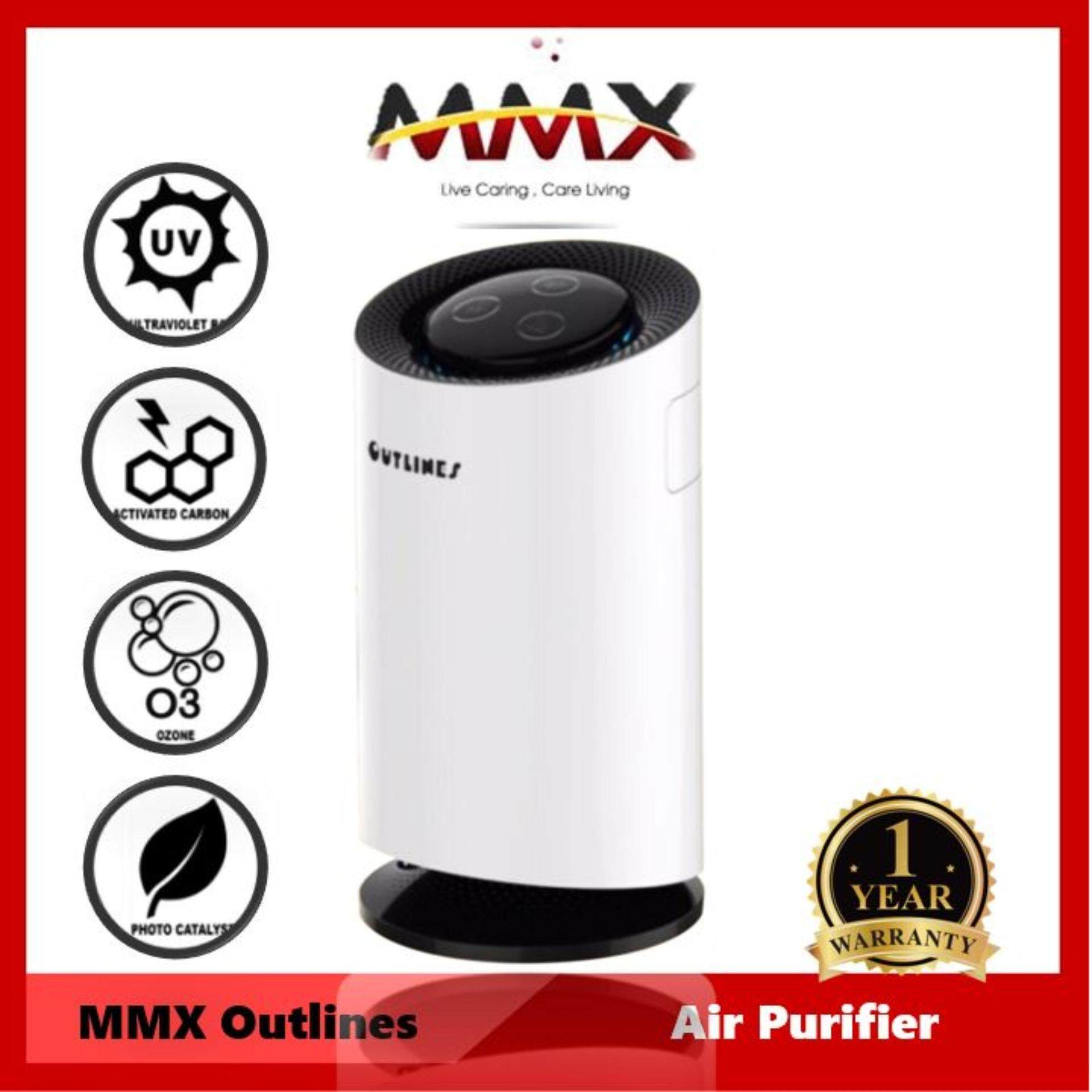 MMX Outlines 3 in 1 Air Purifier (with Air Sterilization Function)