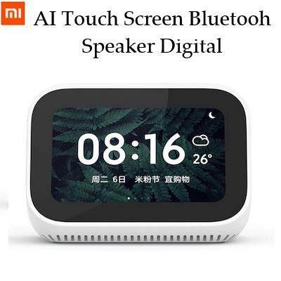 [CNY 2020] Original Xiaomi Mi AI Touch Screen Speaker Digital Display Alarm Clock WiFi