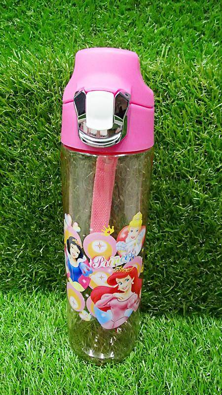 700ML Disney Princess Water Bottle Kids Drinking Bottle BPA Free (BGJAYA)