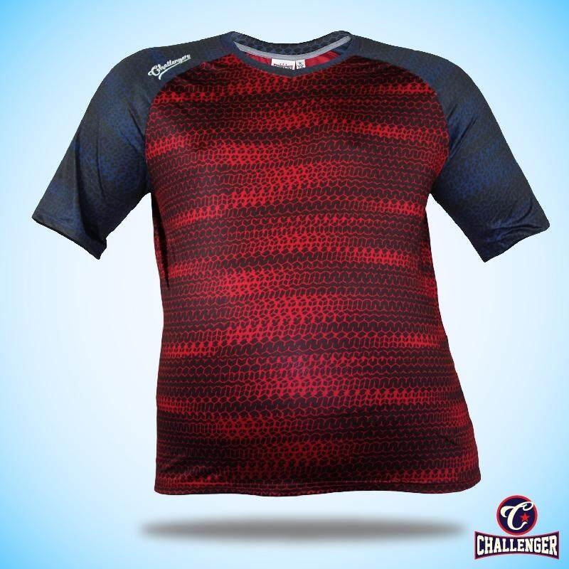 CHALLENGER BIG SIZE Ezdry VN SS Tee CH1025 (Maroon)