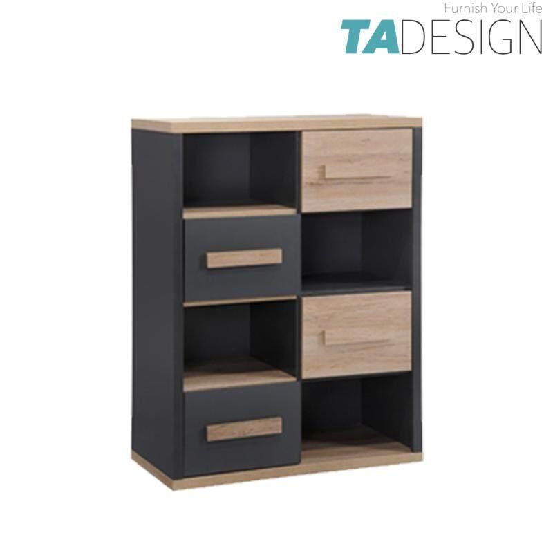 TAD KOBI 4 drawer bookcases kids bookshelf cabinet size: W80xD40xH100cm