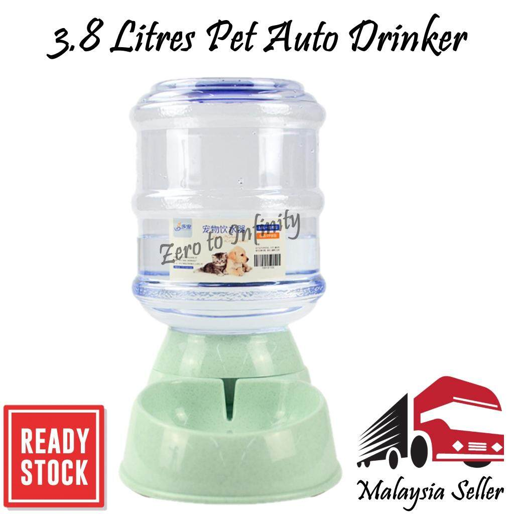 3.8L Large Auto Pet Drinker Dispense