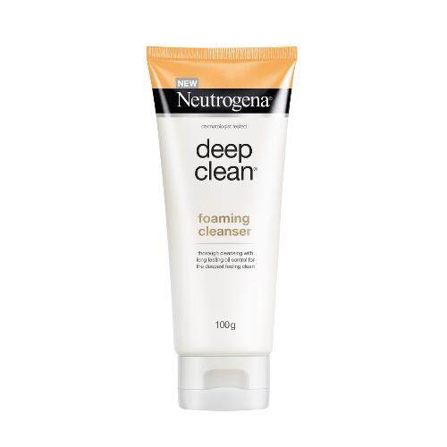 Neutrogena Deep Clean Foaming Cleanser 100g [FREE SHIPPING]