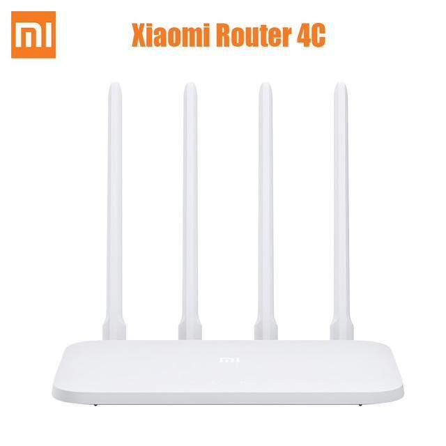 Original Xiaomi Mi Wireless Router 4C 2.4GHz / 300Mbps / Four Antennas - White