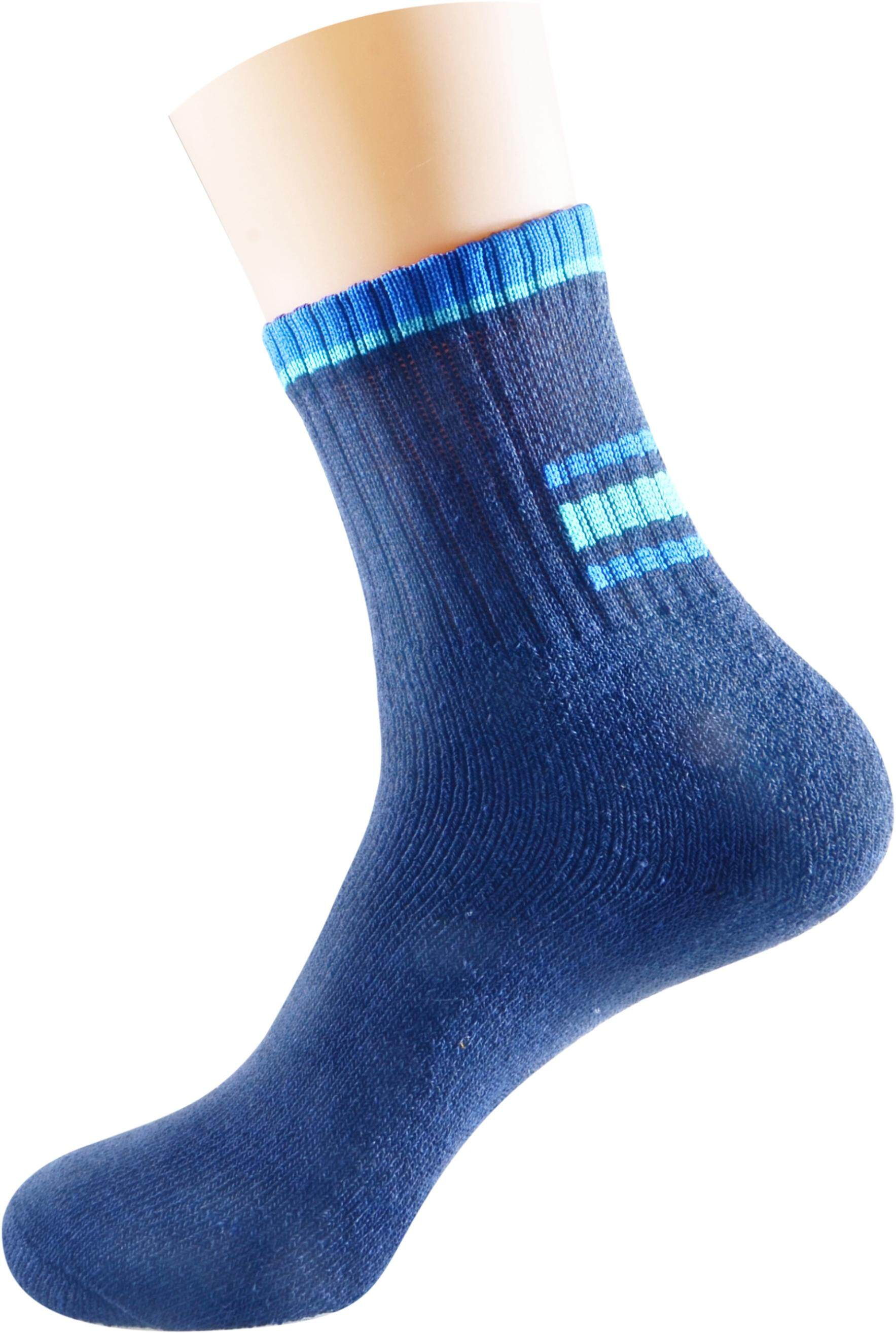 Semlouis Sport Quarter Crew Socks - Basic Design / PAIR