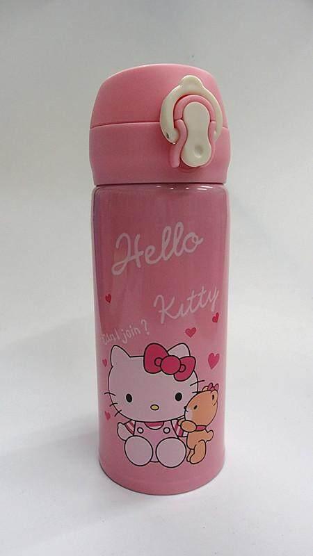 350ML Cartoon 304 Stainless Steel Thermos Flask (BGJAYA)-Hello Kitty