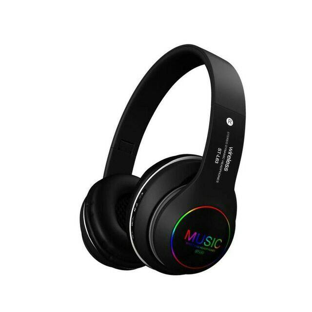 Wireless Stereo Headphones St-L63 (New Arrival) Special Price