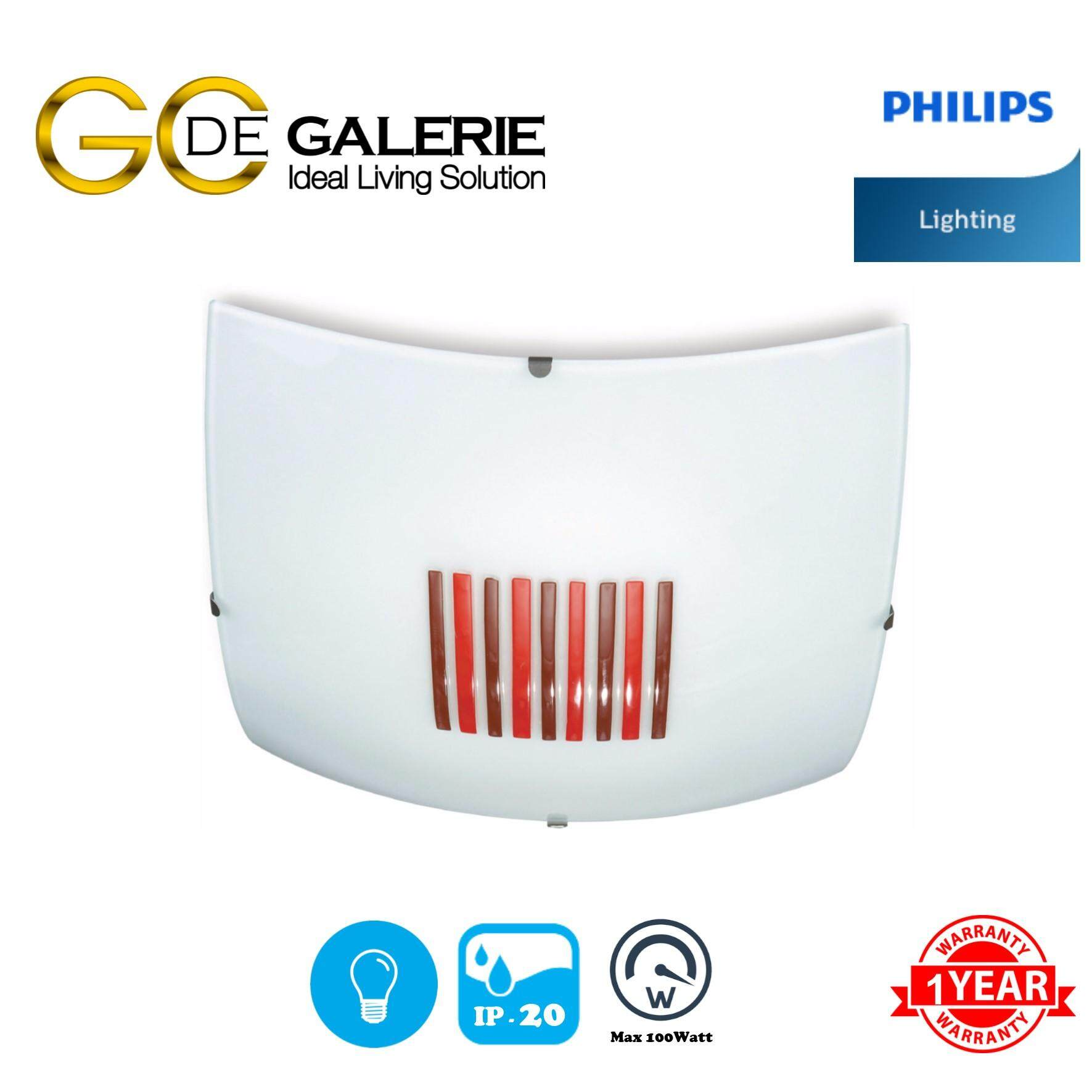 CEILING LIGHT PHILIPS 30144/32 QCG302 RED 1X100W
