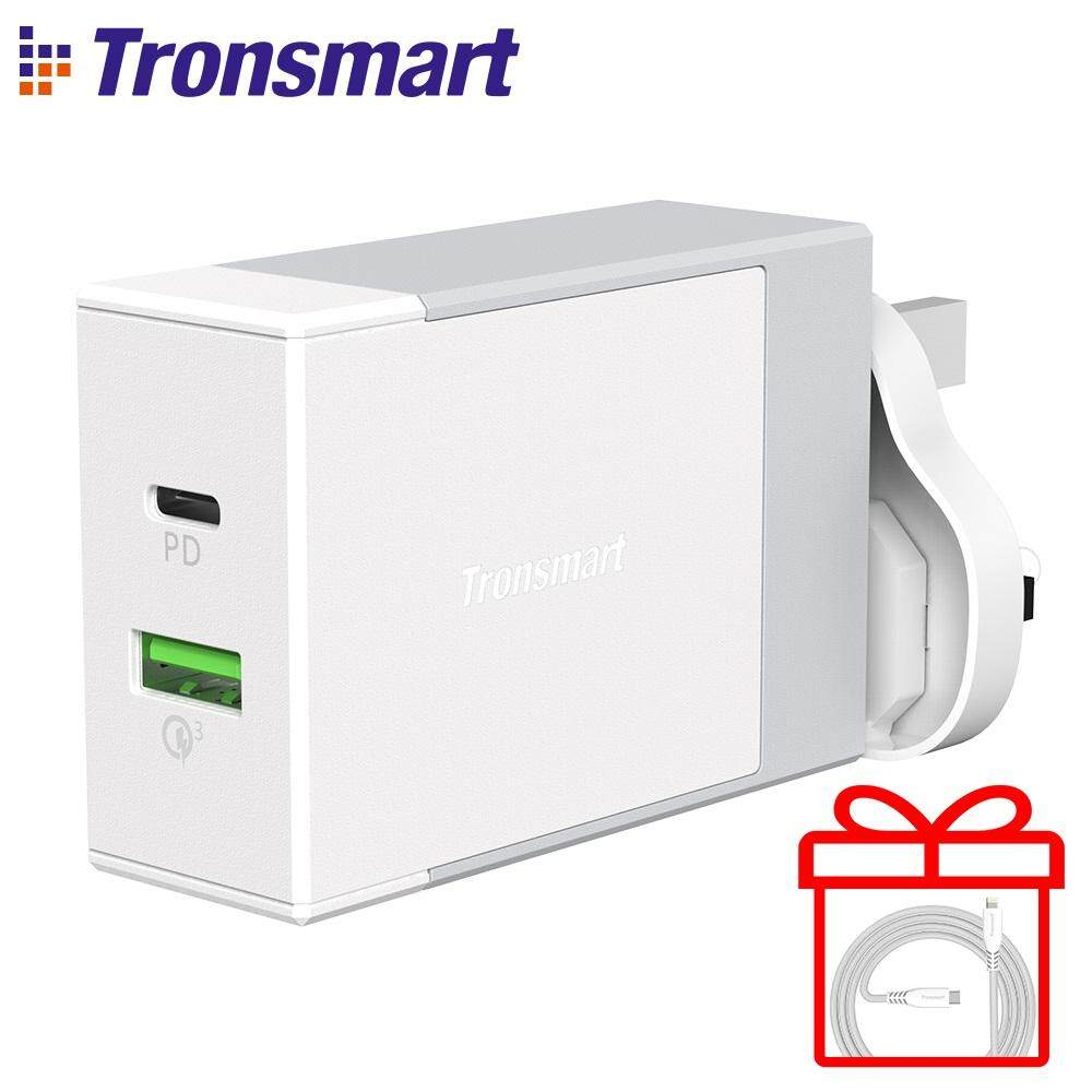 Tronsmart W2DT 48W USB-C With Power Delivery Qualcomm Quick Charge 3.0 Wall Charger