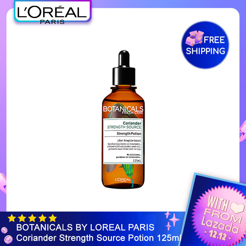 BOTANICALS BY LOREAL PARIS Coriander Strength Source Potion 125ml