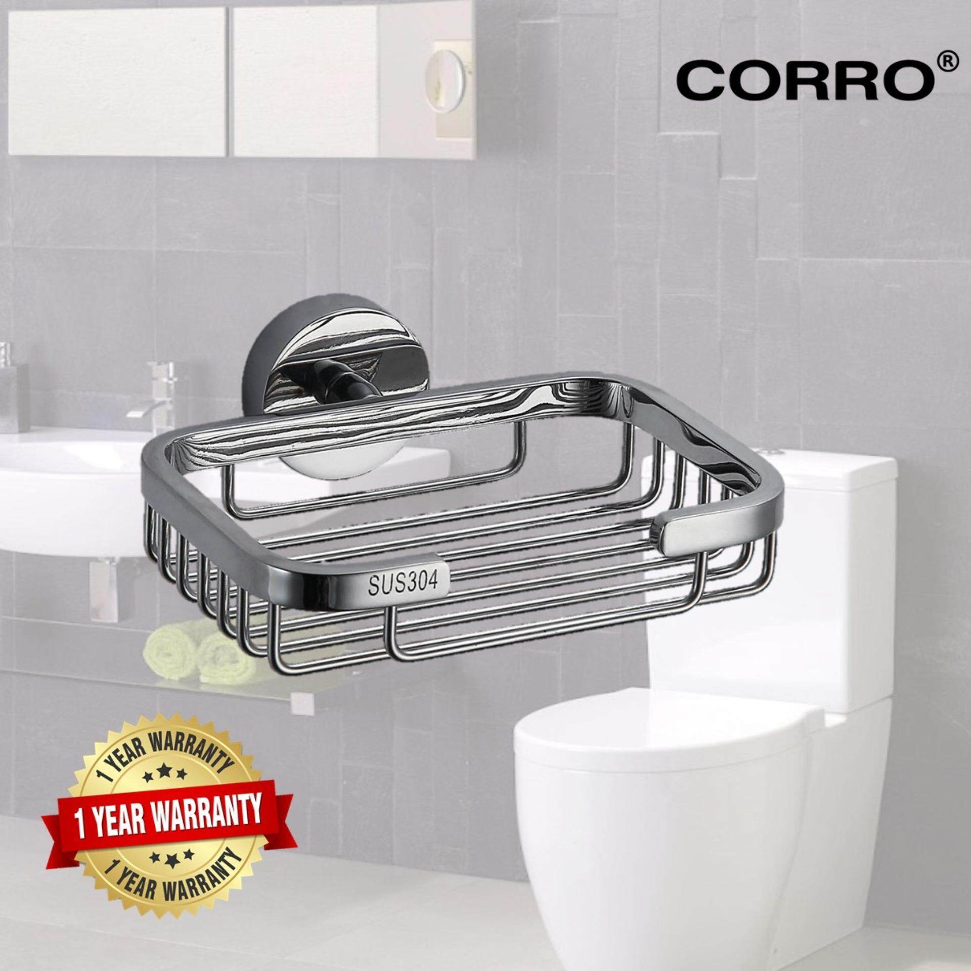 CORRO High Quality SUS304 Stainless Steel Soap Dish / Basket