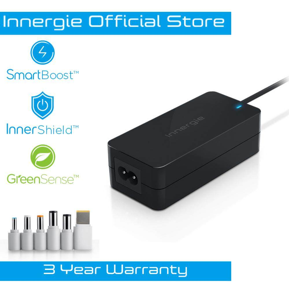 Innergie PowerGear 65 65W Universal Laptop Charger Adapter - Black