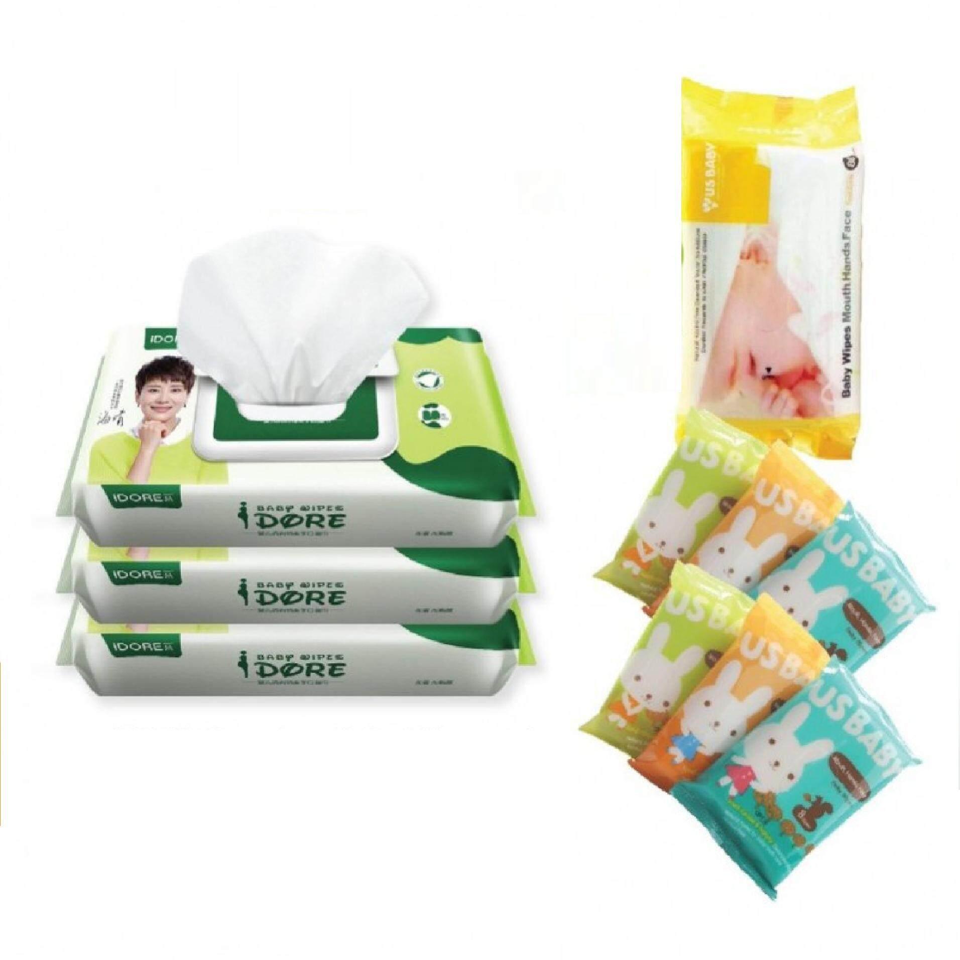 IDORE Premium Baby Wipes (80'S) Bundle Deal