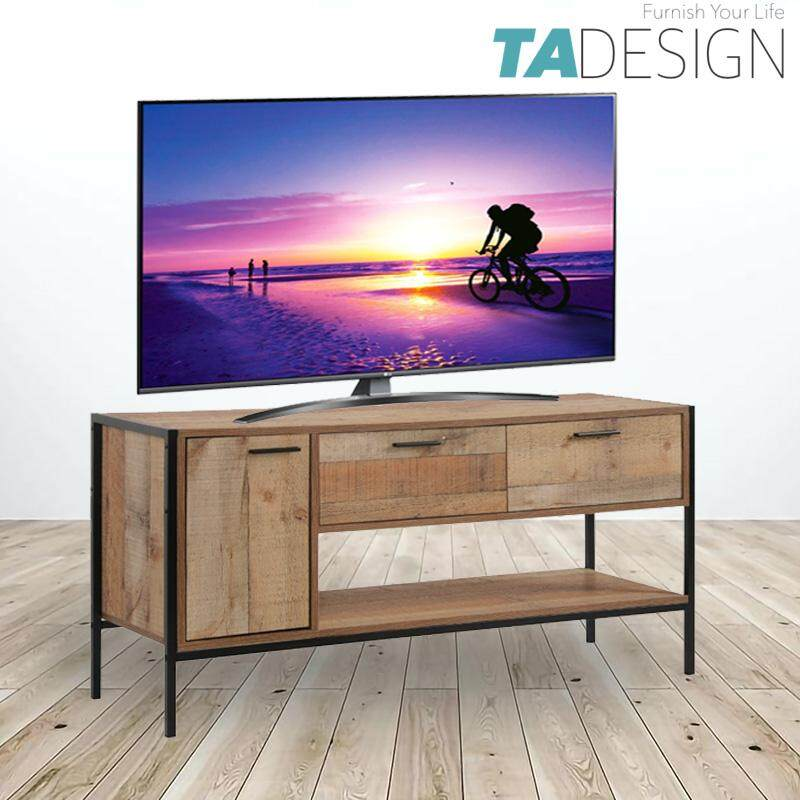 TAD TEXAS tv cabinet 4ft industrial design tv console table