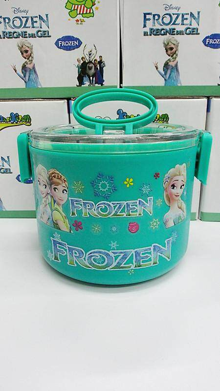 [Ready Stock] 1 Layer Stainless Steel Cartoon Lunch Box (BGJAYA)-Frozen