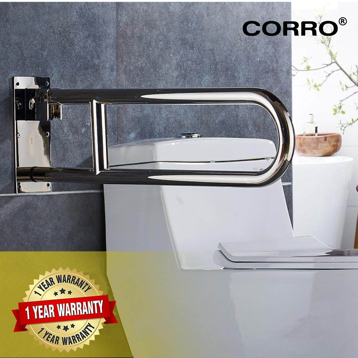 CORRO High Quality SUS304 Stainless Steel Foldable Grab Bar