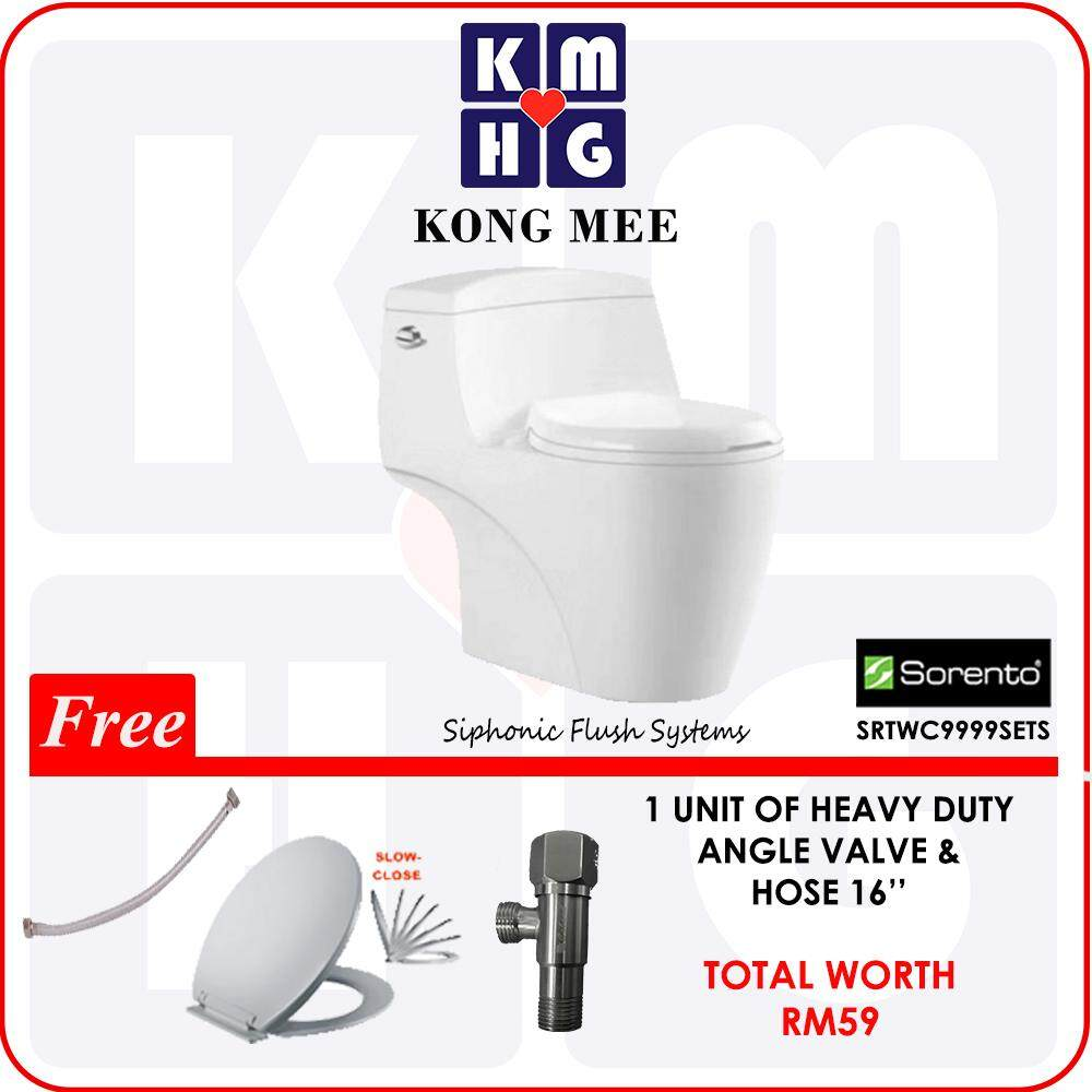 [VALUE SET] Sorento Italy - Ceramic Basin + Basin Tap + Basin Waste + Bottle Trap  High Quality Premium Bathroom Washroom Accessories Clean Toilet Jamban Tandas Home Furniture Fixtures Sanitary Luxury